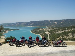 Classic Bike Esprit, motorcycle tour to Gorges du Verdon