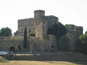 Motorcycle tour around the Luberon