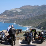 Classic Bike Provence motorcycle tour to Corsica