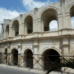 Arles Amphitheatre in the Camrgue