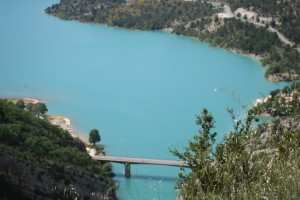 Lac St Croix in the Gorges du Verdon , Provence