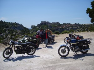 Guided motorcycle tours Classic Bike Esprit